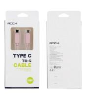 洛克 ROCK USB3.0 type-c公对公转type-c数据线苹果MacBook数据充电线