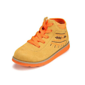 shoebox鞋柜 童鞋秋款男女鞋简约舒适系带休闲鞋男女通用中性舒适