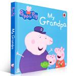 Peppa Pig My Grandpa 小猪佩奇故事书 粉红猪小妹 我的爷爷 幼儿启蒙认知 英文原版童书绘本 0-3