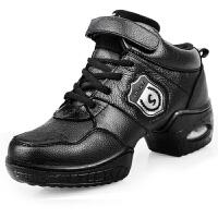 女士舞蹈 单鞋中跟皮鞋 英伦运动鞋女跳舞鞋工作鞋