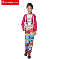 探路者童装 女童户外风格系列滑雪裤