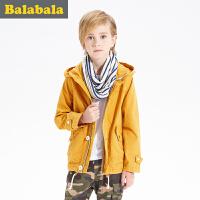 5.25抢购价:159元 巴拉巴拉男童外套中大童学生上衣童装秋儿童休闲时尚便服