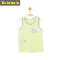 巴拉巴拉男童背心小童宝宝上衣童装夏季儿童卡通纯棉背心