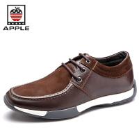 苹果APPLE 男鞋 英伦潮流休闲鞋韩版男士时尚商务鞋  皮鞋5208053