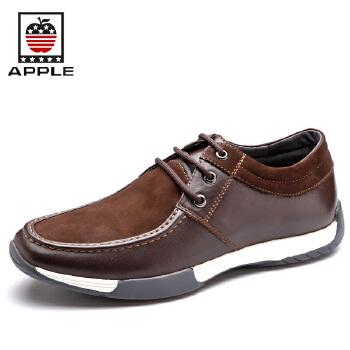 【秋季新品】苹果APPLE 男鞋 英伦潮流休闲鞋韩版男士时尚商务鞋 皮鞋5208053