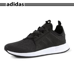 韩国代购 Adidas/阿迪达斯X_PLR男跑步鞋新款鞋带扣运动鞋BB1100