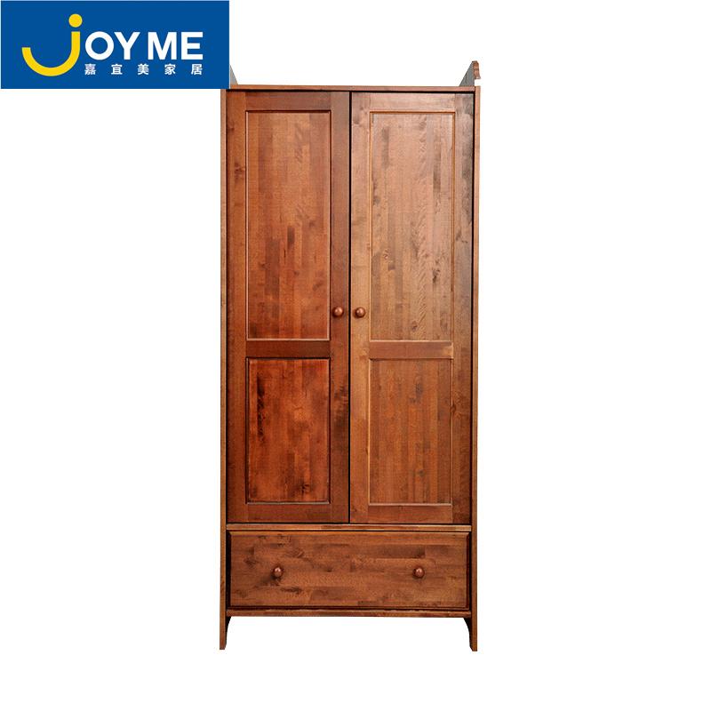 【嘉宜美大衣柜】嘉宜美木质衣柜实木组装衣柜小户型