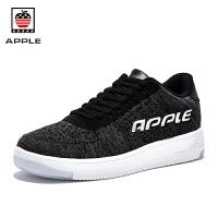 APPLE苹果男鞋夏季休闲运动鞋飞织透气跑步鞋AP-1802
