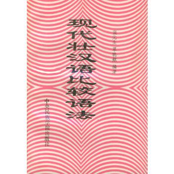 现代壮汉语比较语法