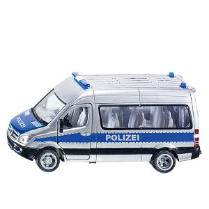 [当当自营]siku 德国仕高 1:50 警察车 合金车模玩具 U2313