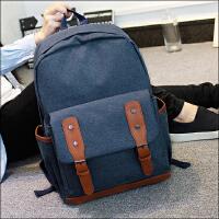 【领券立减50元】新款旅行日韩双肩包女学院风韩版潮复古书包中学生休闲男电脑背包