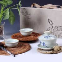 尚帝 一壶两杯茶具套装 整套陶瓷 功夫茶具 特价茶具套装茶壶杯S-2014WHGFYRB4K