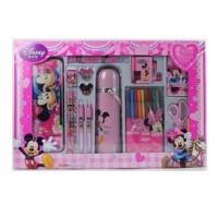 迪士尼儿童米奇大礼盒文具套装小学生学习用品DM0010