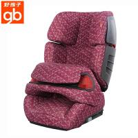 【当当自营】【支持礼品卡】好孩子CS612安全座椅汽车用9个月-12岁车载安全坐椅 isofix接口 CS612-N309暗红三角