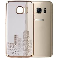 包邮 momax 摩米士 三星 Galaxy s7 edge 手机壳 s7 手机保护套 S7 电镀流金G9300保护套G9350软套