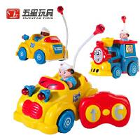 五星玩具 无线遥控车托马斯遥控火车带音乐儿童玩具车遥控玩具卡通小汽车