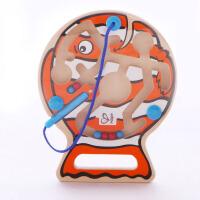 Hape 垂钓乐迷宫 2岁 磁性 儿童益智创意玩具 E1700