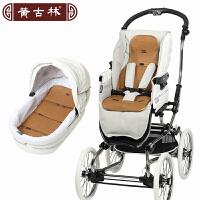 [当当自营]黄古林夏季婴儿推车坐垫凉席宝宝通用透气藤席儿童儿童手推车坐垫70*30cm