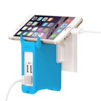 包邮 MOMAX 摩米士 2.4A 快充 iphone7 plus 充电头 苹果ipad AIR2  mini3 iphone6 PLUS手机通用充电器三星小米华为多口4USB输出
