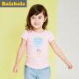 巴拉巴拉女童短袖t恤小童宝宝体恤童装夏装儿童小孩T恤女