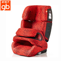 【当当自营】【支持礼品卡】好孩子CS612安全座椅汽车用9个月-12岁车载安全坐椅 isofix接口  CS612-M219红底黑三角