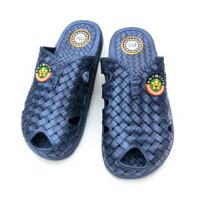潮路思夏季男士凉鞋 花园鞋 包头鞋 浴室洗澡拖鞋 户外沙滩拖鞋CLS-630 深蓝色 45集合44码穿