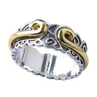 戴和美 精选925银紧箍咒复古戒指