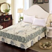 福存家居 纯棉床裙全棉床罩韩版花边1.2米1.5米1.8米2米床床套床单床笠