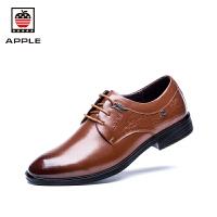 苹果 正装鞋男潮流商务鞋新款绅士办公尖头皮鞋 AP1606