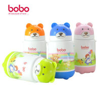 乐儿宝BOBO儿童卡通保温背带水壶/婴幼儿水杯//吸管杯 360ml