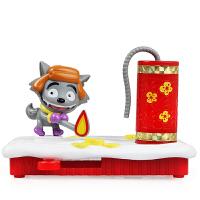 奥迪双钻(AULDEY)喜洋洋与灰太狼 儿童玩具套装 灰太狼乐趣放鞭炮591104