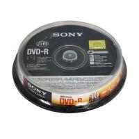 索尼sony光盘 DVD刻录盘 4.7G DVD+R/-R 16X DVD刻录盘 空白光盘刻录光盘 10片装