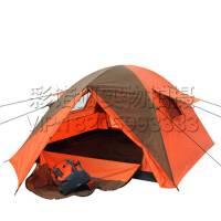 庭院草地双层帐篷 海边3-4人钓鱼防雨遮阳罩 野餐外露营帐篷 户外休闲旅行装备