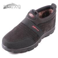 欣清老北京布鞋男鞋中老年保暖冬季新款厚底雪地靴男士靴子货到付款