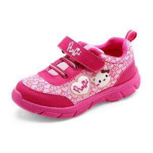 鞋柜/SHOEBOX秋冬新款儿童可爱卡通猫女童跑步鞋运动鞋童鞋
