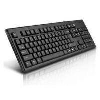 双飞燕键盘KR-85 游戏键盘 防水静音 USB笔记本、台式机电脑外接键盘  全新盒装正品行货
