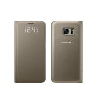 三星S7原装智能皮套S7 LED休眠保护套G9300手机壳G9308翻盖式正品