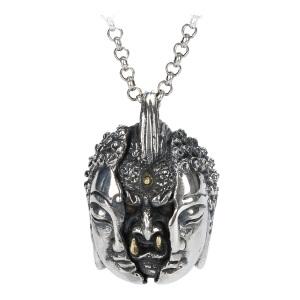 戴和美珠宝首饰吊坠 S925银恶从心生吊坠/项链