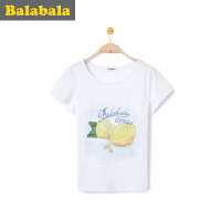 巴拉巴拉女童短袖t恤夏装中大童上衣童装儿童学生T恤女