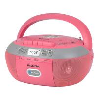 【当当自营】 熊猫/PANDA CD-880复读dvd机CD机播放机磁带U盘TF卡转录蓝牙连接 红色