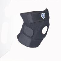 运动护膝透气防寒骑行登山手感舒适透气双弹簧加强型户外护具